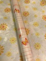 レトロな包装紙(チョウチョ)