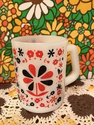 画像1: Federal社 BK/RD FLOWER Mug