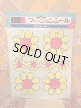 ファッションシール YE/RD FLOWER