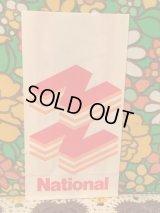National レトロな紙袋(3枚SET)