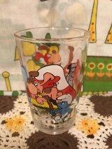 Smurf Benedictin 1993  Glass