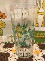 Soldier Boy&Girl Vintage Glass