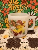 GlasBake YE FLOWER GIRL Mug