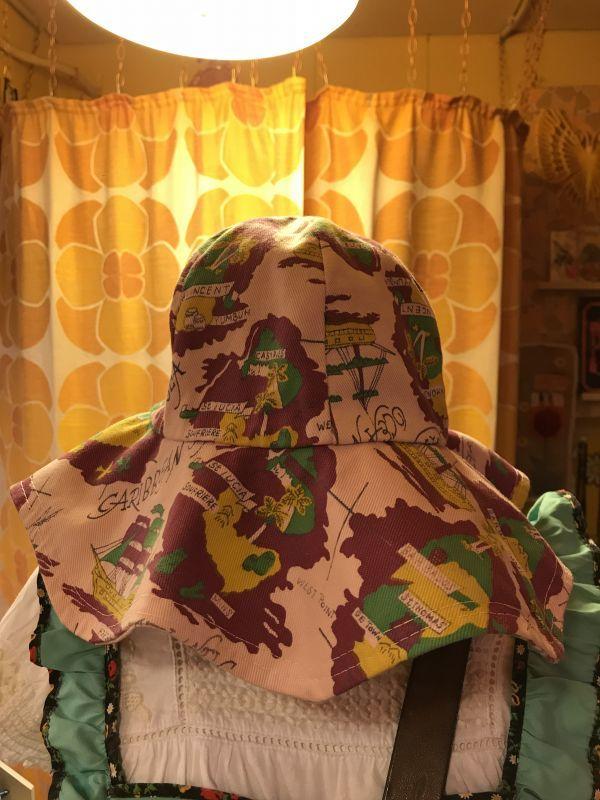 画像1: レトロプリント VINTAGE HAT