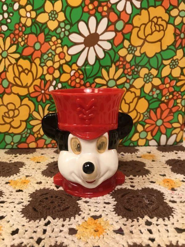 画像1: VINTAGE MICKEY プラカップ(ホログラム)